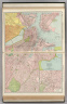 Commercial Atlas of America. Rand McNally Standard Map of Boston and Vicinity. (with) Business Portion of Boston.