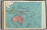 Commercial Atlas of America. Rand McNally Standard Map of Oceania and Malaysia. (with) Eastern Protion of French Polynesia. (with) Hawaiian Is. (with) New Caledonia and Loyalty Islands.