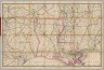 Rand, McNally & Co.'s New Shippers' Railroad Map of the United States. Scale: 8 miles to one inch. Showing all railroads, each in a separate color, and all railroad stations in large, plain type. This is the New Orleans section only, of the above named map. (Below the neatline) Rand, McNally & Co.'s New Shippers' Railroad Map of the United States, Copyright, 1888 by Rand, McNally & Co. Copyright, 1891 by Rand, McNally & Co.