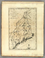The Province of Maine, From the best Authorities by Samuel Lewis, 1794. (above neat line) Engraved for Carey's American Edition of Guthrie's Geography improved.