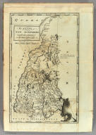 The State of New Hampshire. Compiled chiefly from Actual Surveys. By Samuel Lewis, 1794.