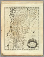 Vermont From actual Survey Delineated & Engraved by Amos Doolittle N.H. (above neat line) Engraved for Carey's American Edition of Guthrie's Geography Improved.