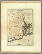 The State of Rhode Island compiled from the Surveys and Observations of Caleb Harris, By Harding Harris. J. Smither sculp.