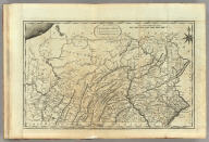 The State of Pennsylvania reduced with permission from Reading Howell's Map, by Samuel Lewis. Smither Sculp. Engraved for Carey's American Edition of Guthrie's Geography improved.