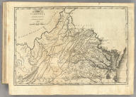 The State of Virginia from the best Authorities, By Samuel Lewis. 1794. Smither Sculpt. Engraved for Carey's American Edition of Guthrie's Geography improved.