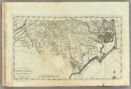 The State of North Carolina from the best Authorities, &c. by Samuel Lewis. Engraved by Vallance.