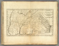 Georgia, from the latest Authorities. W. Barker, sculp. Engraved for Carey's American Edition of Guthrie's Geography improved.