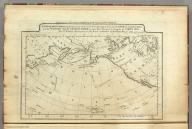 A Map of the Discoveries made by Capts. Cook & Clerke in the Years 1778 & 1779 between the Eastern Coast of Asia and the Western Coast of North America, when they attempted to Navigate the North Sea. Also Mr. Hearn's discoveries to the North westward of Hudson's Bay, in 1772. J.T. Scott sculp. Engraved for Carey's American Edition of Guthrie's Geography improved.