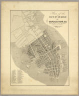 Plan of the City And Neck of Charleston, S.C. Reduced From Authentic Documents & Engraved By W. Keenan. Pub. Septr. 1844.