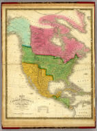 Map Of North America Including All The Recent Geographical Discoveries. Published by S. Augustus Mitchell Philadelphia. 1831. J.H. Young Sc.