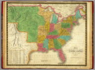 Map Of The United States Constructed From the latest Authorities. Published by S. Augustus Mitchell Philadelphia. 1831. J.H. Young Sc.