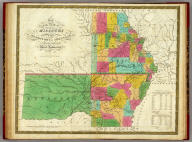 Map of the State of Missouri And Territory Of Arkansas Compiled From The Latest Authorities. Published by S. Augustus Mitchell Philadelphia. 1831. J.H. Young Sc.
