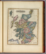 Scotland. (with) inset map of Shetland Isles.