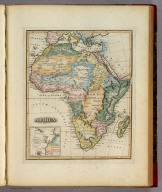 Africa. (with) inset map Supplement of the Islands of the Azores & Cape Verd.