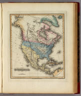 North America. Young & Delleker Sc. Philada. Drawn and Published by F. Lucas Jr. Baltimore.