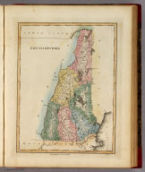 New-Hampshire. B.T. Welch & Co. Sc. Drawn & Published by F. Lucas Jr. Baltimore.