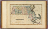 Massachusetts. Drawn & Published by F. Lucas Jr. Baltimore.