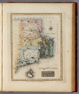 Rhode Island. Drawn and Published by F. Lucas Jr. Baltimore.