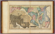 Maryland. Cone & Freeman Sc. Baltimore Published by F. Lucas Jr. Entered According to Act of Congress. (with) inset map of City of Baltimore.