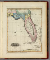 Florida. B. Welch Sc. Drawn & Published by F. Lucas Jr. Baltimore.