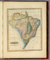 Brazil. Young & Delleker Sc. Philada. Drawn and Published by F. Lucas Jr. Baltimore.