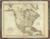 A General Map Of North America. Drawn From The Best Surveys 1795. Scoles, sc. Published by Smith, Reid & Wayland.