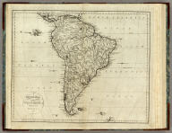 A General Map Of South America. From the Best Surveys, 1796. B. Tanner, sculpt. New-York,Published by John Reid.