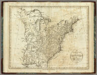 An Accurate Map of the United States of America, according to the Treaty of Peace of 1783. A. Anderson Sculp. Published by Smith, Reid and Wayland.