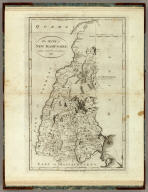 The State of New Hampshire, Compiled chiefly from Actual Surveys. 1796. B. Tanner, sculpt. Published by John Reid, New-York.