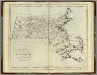 The State of Massachusetts, from the best Information 1796. Published by J. Reid, New York.