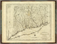 Connecticut From the best Authorities. B. Tanner, del. & sculpt. Engraved for the American Edition of Winterbotham's History of America, Published by John Reid.