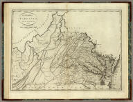 The State of Virginia from the best Authorities. 1796. Published by John Reid N. York. B. Tanner, sculpt.