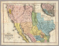 Map of California New Mexico Texas &c. Published by H.S. Tanner No. 156 Fulton St. New York 1849.