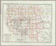"Skeleton Map Of the Territory of the United States west of the Mississippi River Exhibiting the Relations Existing Between Lines And Areas Of Explorations & Surveys Conducted under the auspices of the War Dept. Giving the area of the public domain lying west of the 100th Meridian Of Longitude With an index illustration of a series of Atlas Maps. Proposed to be constructed on a scale of 1 inch to 8 m. Engineer Department U.S. Army. U.S: Engineer Office, Washington D.C. Louis Nell Del. Am. Photo-lithographic Co. N.Y. (Osborne's Process) Prepared to accompany the ""Preliminary & Progress Report"" concerning the ""Expedition of 1872 & 1873."" Explorations And Surveys West Of The One-Hundredth Meridian."