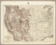 Map Showing The General Topographical Features Of The Territory Of The United States West of the Mississippi River To Accompany Atlas Of Geographical Explorations And Surveys, West Of The One Hundredth Meridian. 1874. West Of the One-Hundredth Meridian. Seasons of 1869, 1871, 1872 & 1873. 1st. Lieut. Geo. M. Wheeler, Corps of Engineers, U.S. Army in Charge. Geographical Explorations And Surveys.