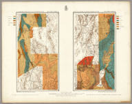 Atlas Sheet Number 58. Parts Of E. California, S.E. Nevada, N.W. Arizona & S.W. Utah. Atlas Sheet Number 66. Weyss, Herman & Aguirre, Del. Expeditions of 1872 & 1873, Under the Command of 1st. Lieut. Geo. M. Wheeler, Corps of Engineers, U.S. Army. Geological Assistants: G.K. Gilbert, A.R. Marvine and E.E. Howell. U.S. Geographical Surveys West Of The One-Hundredth Meridian.