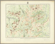S.W. Colorado, San Juan Mining Region. Atlas Sheet 61 (C.). Louis Nell, Del. Expeditions of 1874 and 1875 under the Command of 1st. Lieut. Geo. M. Wheeler, Corps of Engineers, U.S. Army. Executive Officer and Field Astronomer: 1st. Lieut. W.L. Marshall, Corps of Engineers, U.S. Army. Topographical Assistants: Louis Nell and J.C. Spiller. U.S. Geographical Surveys West Of The 100th Meridian (1876?)