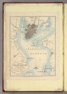 The City of Charleston, (South Carolina,) With its Harbour and Forts. London: Published by Edward Stanford, 6, Charing Cross, S.W. Feb 1st 1861.