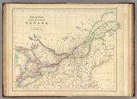 Upper Or Western And Lower Or Eastern Canada. By Prof. H.D. Rogers & A. Keith Johnston, F.R.S.E. Entered in Sta. Hall. London ... & according to an act of Congress ... 1857, by H.D. Rogers ... Massachusetts. London, John Murray, Albemarle Street, Edinburgh, W. & A.K. Johnston. Engraved by W. & A.K. Johnston, Edinburgh.