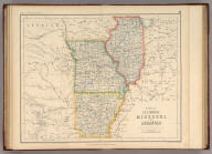 States Of Illinois, Missouri, And Arkansas. By Prof. H.D. Rogers & A. Keith Johnston, F.R.S.E. Entered in Sta. Hall. London ... & according to an act of Congress ... 1857, by H.D. Rogers ... Massachusetts. London, John Murray, Albemarle Street, Edinburgh, W. & A.K. Johnston. Engraved by W. & A.K. Johnston, Edinburgh.