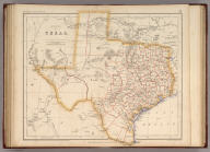 State Of Texas. By Prof. H.D. Rogers & A. Keith Johnston, F.R.S.E. Entered in Sta. Hall. London ... & according to an act of Congress ... 1857, by H.D. Rogers ... Massachusetts. London, John Murray, Albemarle Street, Edinburgh, W. & A.K. Johnston. Engraved by W. & A.K. Johnston, Edinburgh.