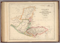 Central America. States Of Yucatan Guatemala, S. Salvador, & Honduras, with the British Colony of Belize. By Prof. H.D. Rogers & A. Keith Johnston, F.R.S.E. Entered in Sta. Hall. London ... & according to an act of Congress ... 1857, by H.D. Rogers ... Massachusetts. London, John Murray, Albemarle Street, Edinburgh, W. & A.K. Johnston. Engraved by W. & A.K. Johnston, Edinburgh.