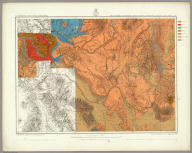 Parts Of Eastern & Southeastern Arizona, Western & Southwestern New Mexico - Atlas Sheet, No. 83. Issued Feb'y. 15 1877. Weyss, Herman & Lang Del. Expeditions Of 1871 & 1873. Under the Command of 1st. Lieut. Geo. M. Wheeler, Corps of Engineers, U.S. Army. Geological Assistants: G.K. Gilbert, E.E. Howell and Dr. O. Loew. U.S. Geographical Surveys West Of The 100th Meridian.