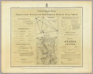 Conventional Signs For Triangulation Outline And Topographical Plots Of Atlas Sheets. West Of The 100th Meridian. Expeditions - Under the Command of 1st. Lieut. Geo. M. Wheeler, Corps of Engineers, U.S. Army. U.S. Geographical Surveys.