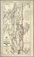 Map showing Detailed Topography Of The Country Traversed by the Reconnaissance Expedition through Southern & Southeastern Nevada in charge of Lieut. Geo. M. Wheeler U.S. Engineers. Assisted by Lieut. O.W. Lockwood Corps Of Engineers U.S.A. 1869. P.W. Hamel Chief Topographer And Draughtsman. Photolith. by the N.Y. Lithg. Engrg. & Prtg. Co. 16 & 18 Park Place.
