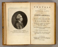 Title Page: Travels through the interior parts of North America.