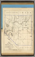Map of the State of Nevada for Guide Book of the Pacific.