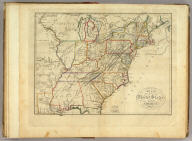 Map of the United States of America. Gridley Sc.
