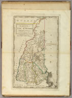 The State of New Hampshire. Compiled chiefly from actual Surveys. By Samuel Lewis, 1813.