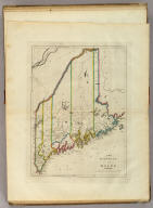 The District of Maine. Engrd. by John G. Warnicke.
